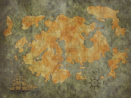 treasure map background photo