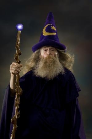 sombrero de mago: Wizzard Foto de archivo