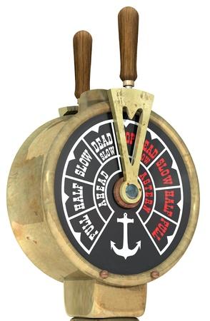 ビンテージ船の電信