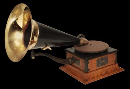 phonograph: Vintage 1929 Victrola phonograph