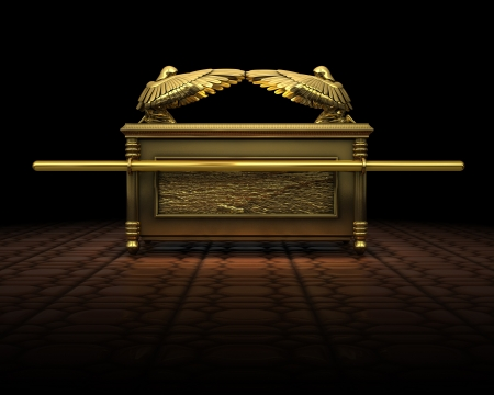 jewish: Ark of the Covenant Stock Photo