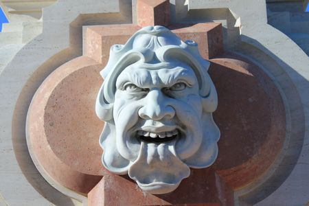Angry Statue