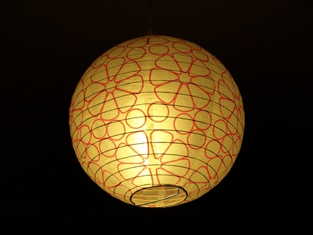 casing paper: Chinese paper latern