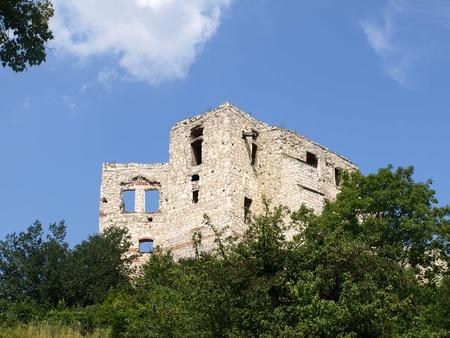 kazimierz dolny: Castle ruin in Kazimierz Dolny, Poland