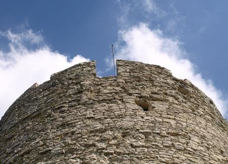 Old round tower in Kazimierz Dolny, Poland Stock Photo - 12782181
