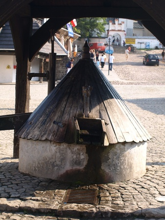 Old well in Kazimierz Dolny, Poland Stock Photo - 13257806
