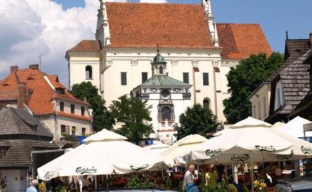 Old Market Place in Kazimierz Dolny, Poland