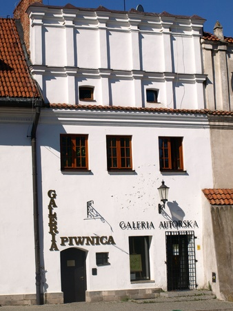 Art Gallery in Kazimierz Dolny, Poland  Stock Photo - 13575713