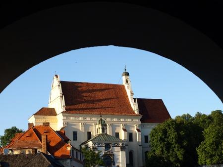 lubelskie: Church in Kazimierz Dolny, Poland Editorial