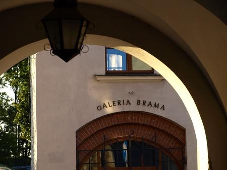 kazimierz dolny: Art Gallery in Kazimierz Dolny, Poland