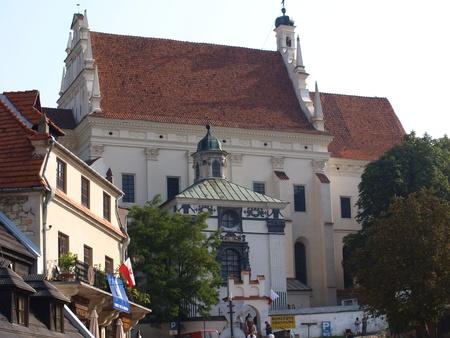 Church on Old Market Place in Kazimierz Dolny, Poland Stock Photo - 13575724