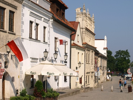 Houses in Kazimierz Dolny, Poland Stock Photo - 13575721