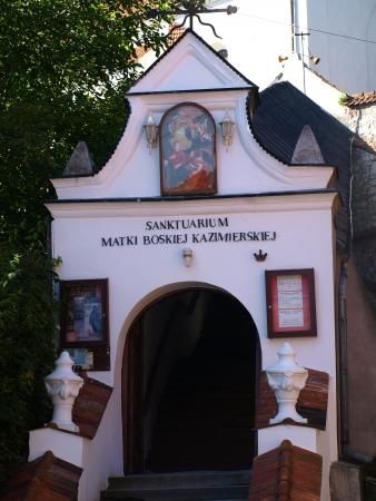 kazimierz: Monastery in Kazimierz Dolny, Poland