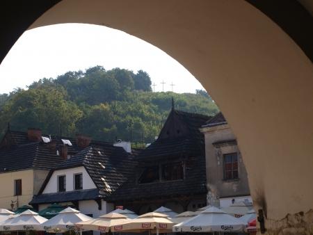 kazimierz dolny: Houses in Kazimierz Dolny, Poland