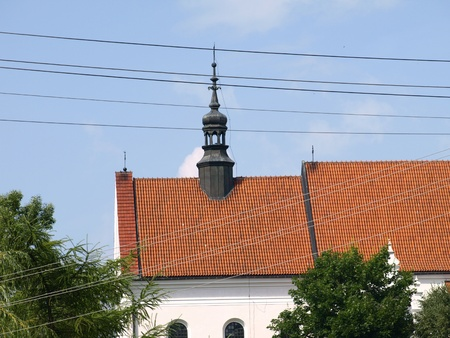 Old church near Old Market place in Kazimierz Dolny, Poland Stock Photo - 13775724