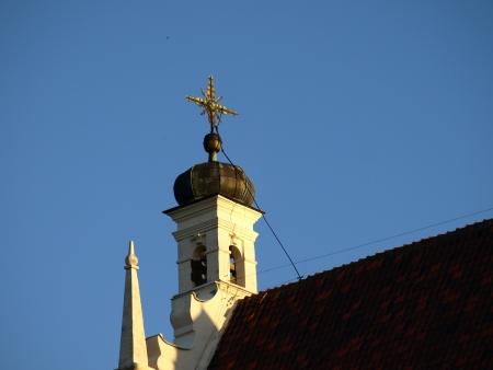 kazimierz dolny: Church in Kazimierz Dolny, Poland Editorial