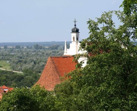 kazimierz: Church in Kazimierz Dolny, Poland Editorial
