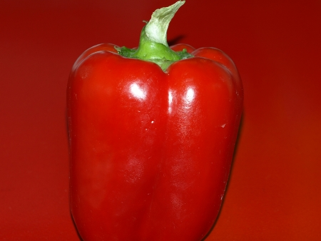 Red paprika photo