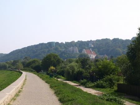 kazimierz dolny: Pavement in Kazimierz Dolny, Poland Stock Photo