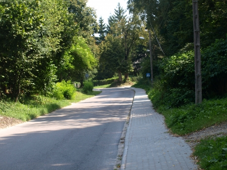 Road in countryside