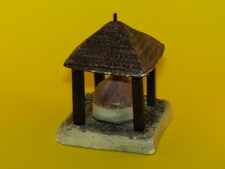 kazimierz dolny: Miniature of well from Kazimierz Dolny, Poland