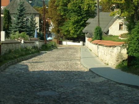 kazimierz: Buildings in Kazimierz Dolny, Poland Editorial
