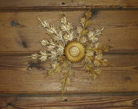 Wooden decoration - star
