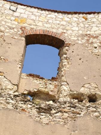 Old castle details