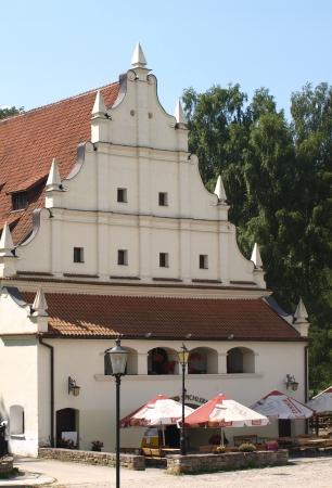 kazmierz dolny: Kazimierz Dolny, Poland - July 08  Old granary - Exclusive hotel in Kazimierz Dolny on July 08, 2013 in Kazmierz Dolny, Poland