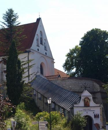kazmierz dolny: Kazimierz Dolny, Poland - July 08  Monastery in Kazimierz Dolny on July 08, 2013 in Kazmierz Dolny, Poland Editorial