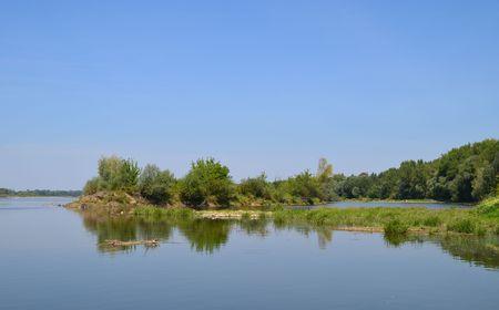 Vistula River in Poland - landscape