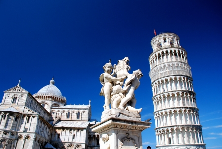 Leaning Tower of Pisa grounds Stock Photo - 9117784