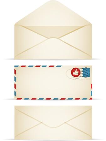 communication �crite: Enveloppes R�tro
