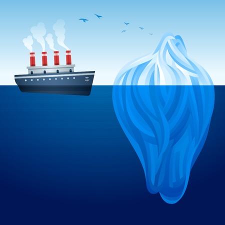 빙산: 빙산 배