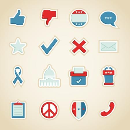 voting ballot: Iconos pol�tica