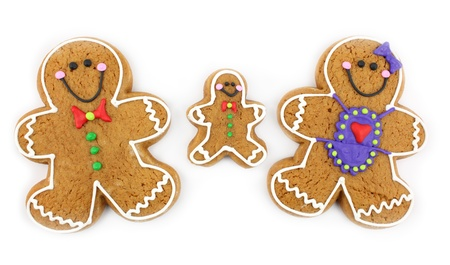 gingerbread: Gingerbread Cookie Family