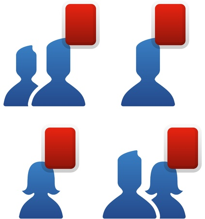 Social Network Friends Vector