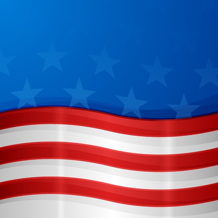 american flag background: USA Background Illustration