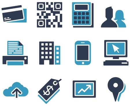 ecommerce icons: eCommerce Icons Illustration