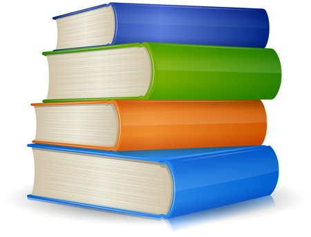 stapel papieren: Stapel van Boeken