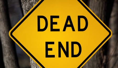 pointless: Dead End Sign