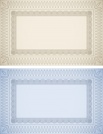 Ornate Frame Backgrounds Stock Vector - 17356810