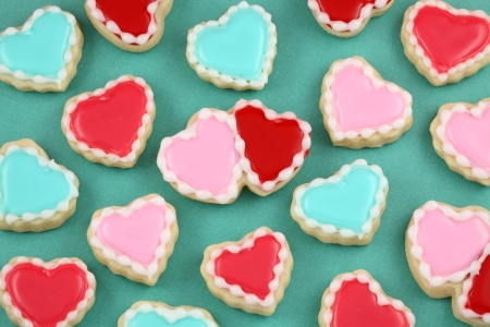 candy hearts: Heart Cookies