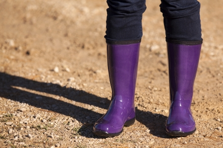 tred: Purple Boots