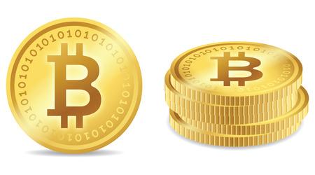 Bitcoin coin symbol concepts