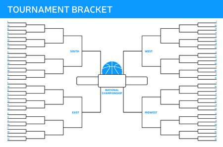 tournament bracket: Tournament Bracket Illustration