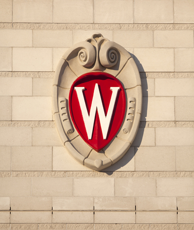 University of Wisconsin School Crest Sajtókép
