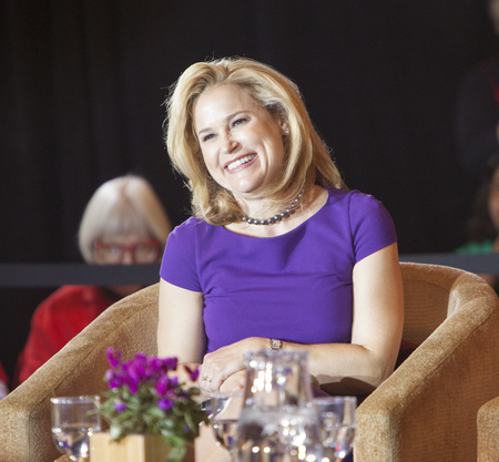 ted: MADISON, WIUSA - March 28, 2016: Heidi Cruz, the wife of Republican presidential hopeful Ted Cruz, speaks to a group of supporters during a rally in Madison, Wisconsin.