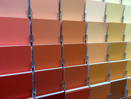 Color swatches and painting colors selection options.