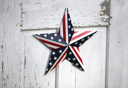 United States patriotic star design.